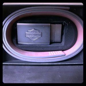Men's Harley-Davidson belt 32-42 cut and size